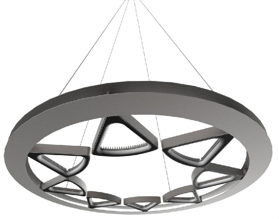 独特的三角形镂空结构设计