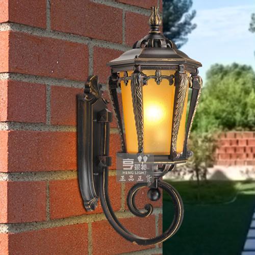 亨莱特 阿凡达户外欧式防水壁灯 庭院阳台墙壁灯0159
