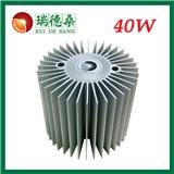 大功率LED技术型40W微槽群复合相变散热器RDS-90-80B系列 可用于室外射灯/筒灯/格栅灯