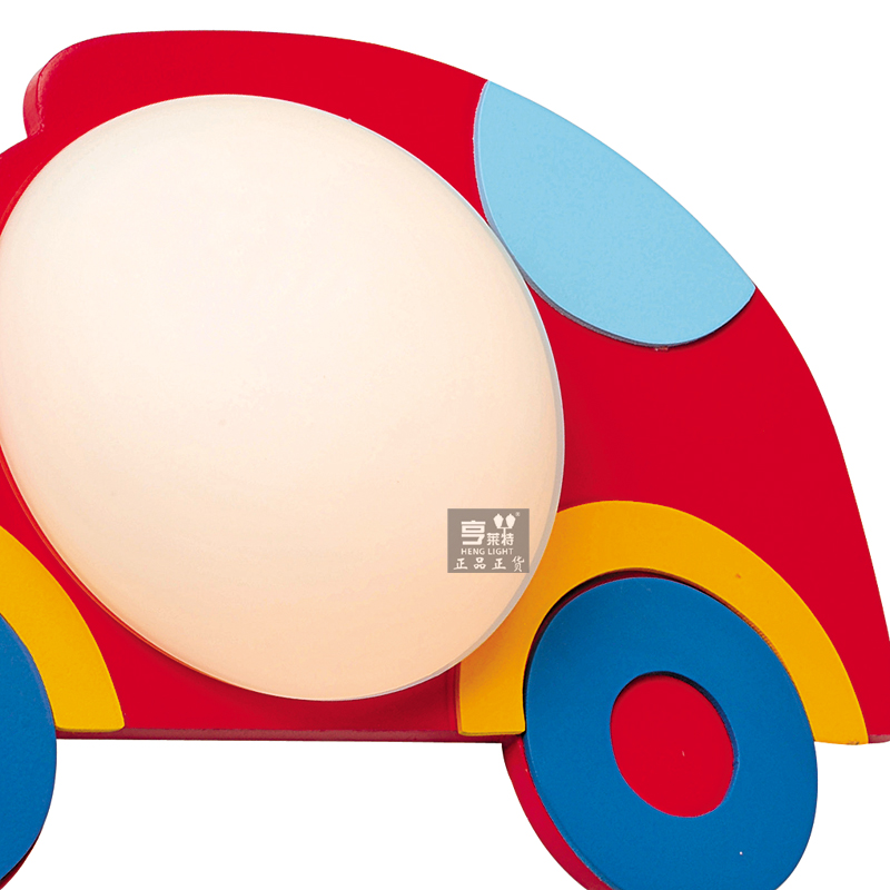 小汽车壁灯卧室儿童房装饰灯具