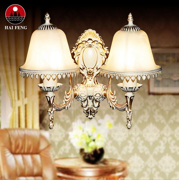 欧式壁灯简约镜前灯卧室床头灯单头田园阳台