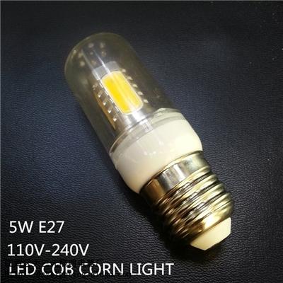 DSY-E27-5W-COB 5W E27带罩玉米棒