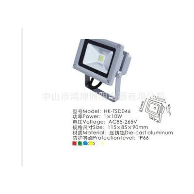 鸿坤 高质量 220V 泛光灯10w