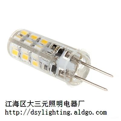 DSY-G4-2W G4 12v AC/DC 通用硅胶灯珠