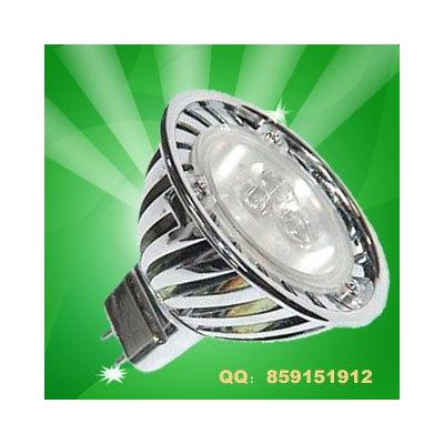 威尔 LED大功率灯杯,3W压铸风行杯,MR16灯头,12V