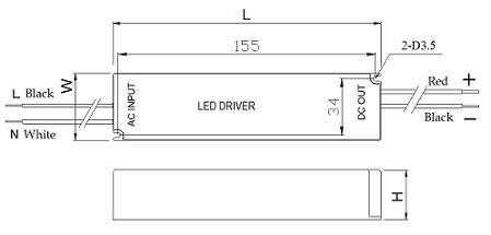 34~40w-led隔离驱动电源