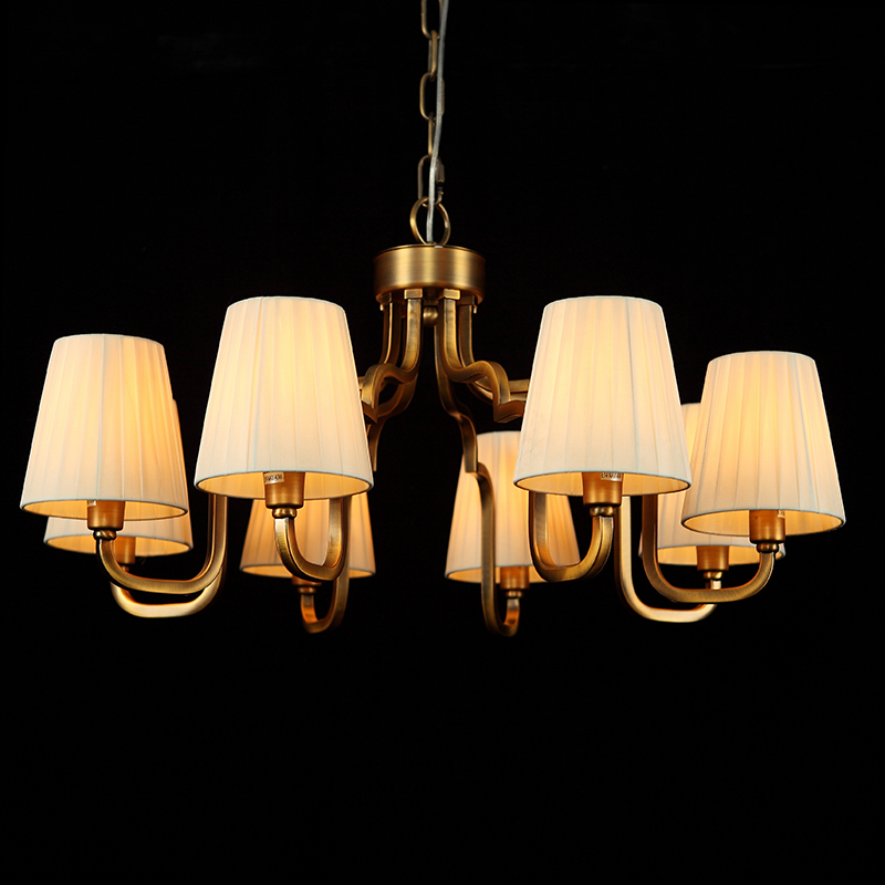 朗缘 吊灯朗缘美式,新中式,欧式全铜,仿铜灯个性创意吊灯.