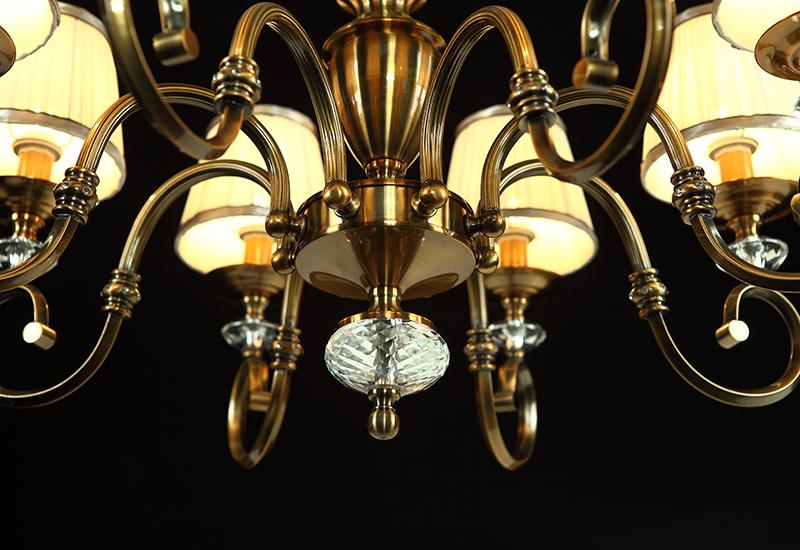 金门灯饰 美式吊灯图片