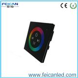 面板触摸控制器 RGB七彩制器 led 全彩控制器 玻璃面板控制器86