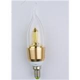 【松雕照明】LED 拉尾蜡烛灯 360度发光 通过了CE和RoHs认证
