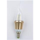 【松雕照明】LED蜡烛灯 360度发光 通过了CE和RoHs认证