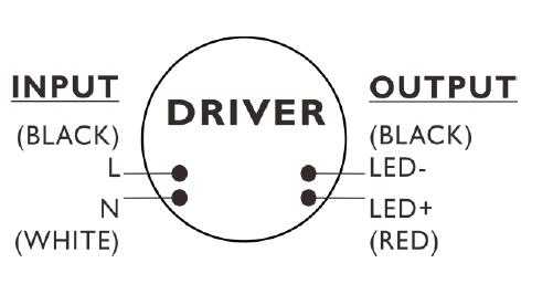 请注意接线安装指南,接线错误将对led驱动程序造成损害; 3.