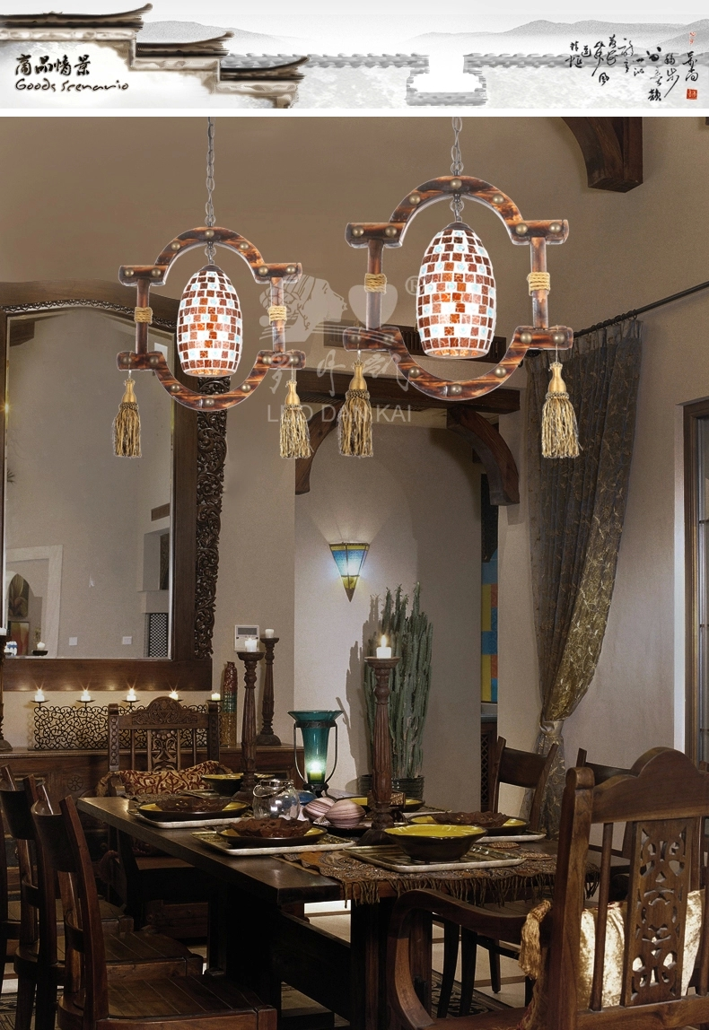 工艺吊灯个性装过道楼梯间玄关餐厅创意装饰特色装饰