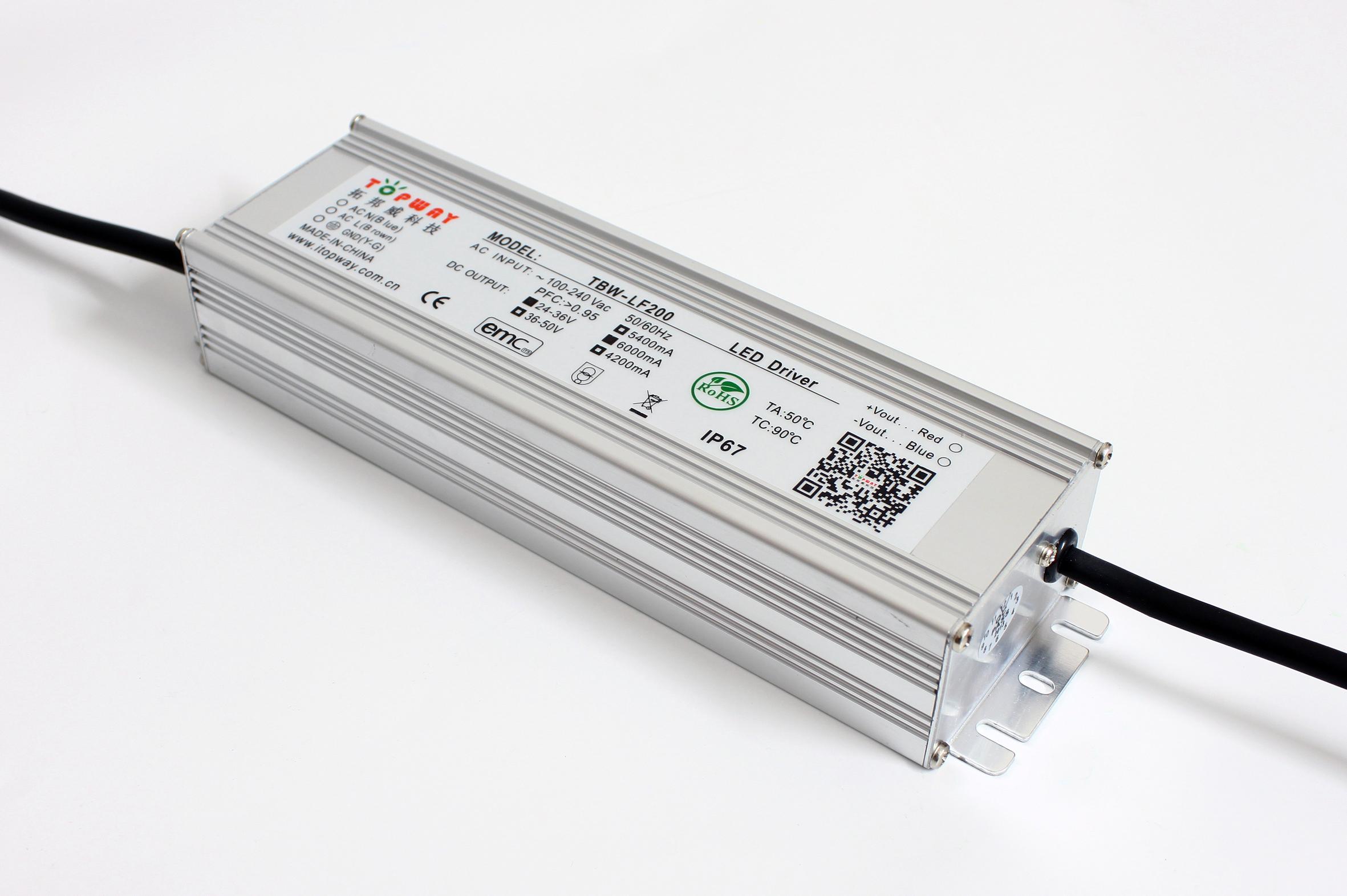 拓邦威免费拿样 200w路灯电源 ;三合一调光;定时降功率