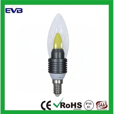 LED蜡烛灯 C37 COB 4W E14