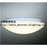 沃奥 LED卧室吸顶灯 简约圆形白色客厅灯书房灯 节能阳台灯走廊灯 神灯奖产品
