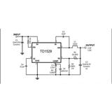 TD1529 美国泰德代理 恒流恒压驱动IC