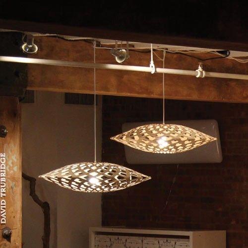 北欧风格吊灯 原木创意吊灯 现代简约木艺吊灯
