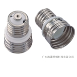 E40/80×50铜镀镍陶瓷灯头