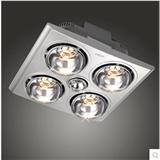 奥朵 吸顶嵌入式厨卫灯暖照明换气多功能卫生间浴霸AZYB43-02