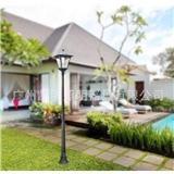 太阳能庭院灯 欧式LED庭院灯 铝压铸带杆庭院灯