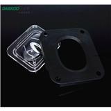 LED路灯硅胶透镜/户外照明//LED单颗路灯透镜 匹配5050光源 177-125出光角度