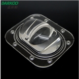 路灯/户外照明/LED路灯硅胶透镜/LED单颗路灯透镜 匹配CLL032光源 120-60出光度