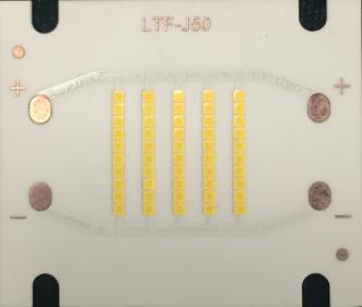 csp无封装芯片集成led光源