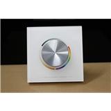 单色旋钮面板LED控制器 低压旋钮控制器 旋钮无极调光 拨码设置功能 旋钮调光柔和细腻 T5