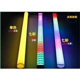 led方形护栏管灯单色 16段七彩外控铝材6段数码管 8段线条轮廓灯
