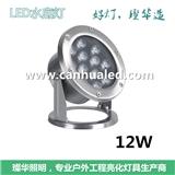12W18W24W36W大功率LED水底灯/全不锈钢浇铸水下灯/DMX512喷泉灯