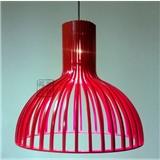 品匠 木艺环保现代简约客厅书房 鸟笼吊灯 PLP8057-460