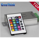 创想LEDRGB控制器 铝壳版 红外24键LED控制器RGB控制器