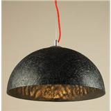 杰新 现代简约树脂半圆吊灯 D6023-1S