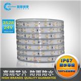 LED灯带3528高亮24V60珠高亮套管防水工程装饰吊顶贴片led灯条
