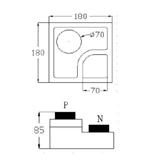 华灿M10C-CB高 LED芯片 副本