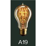 新光阳 爱迪生灯泡 A19 40W 复古灯泡 仿古灯泡 卤钨灯泡
