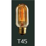 新光阳 爱迪生灯泡 T45 40W 复古灯泡 仿古灯泡 卤钨灯泡