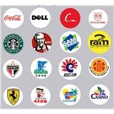Logo投影灯片 定制图案文字光影灯片 单色双色三色四色全彩