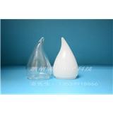 LED蜡烛泡灯罩PC灯罩配件C45超半圆光扩散外壳白色厂家直销优质