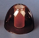 高硼硅吹制双层玻璃灯罩