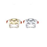 四角水晶天花灯 射灯 透明 XD5050-4 勃朗