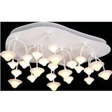 led客厅吸顶灯异形卧室灯饰创意简约现代餐厅灯蘑菇灯