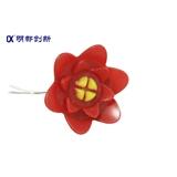 明都创新一次成型Φ120玫瑰花灯 仿生植物造型灯具