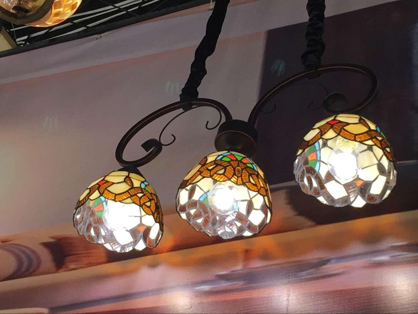 铁艺手工 新中式吊灯