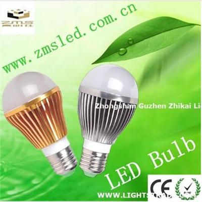 真明仕 铝E27 5W大功率LED灯泡