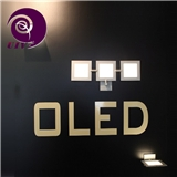 100X100mmOLED照明面板节省室内灯具装修空间