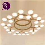 直径109mm圆形OLED照明面板圆形oled光源办公室灯光设计用光源