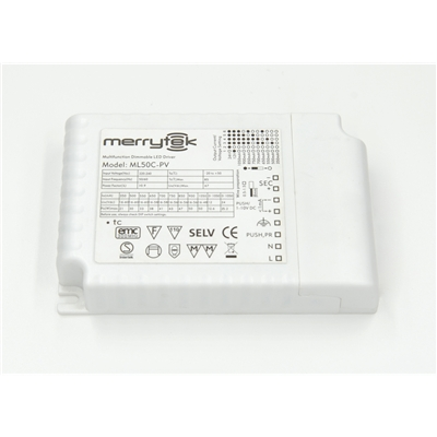 恒流PWM调光LED电源ML50C-PV