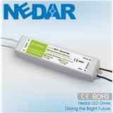 耐达LED 12V20W防水恒压驱动电源IP68铝壳灌胶